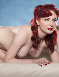 Meet Amateur Angela Ryan, a model and performer from Dallas, Texas. She?s full, voluptuous, with porcelain skin, red hair and even redder lips. ?I?ve