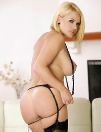 Krissy Lynn is irresistible in lacy lingerie that accentuate her killer curves.
